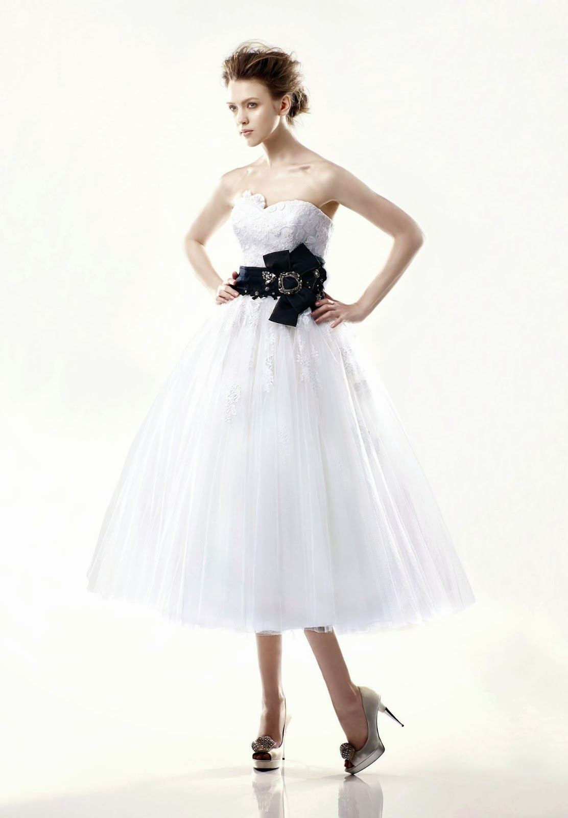 74ce32bfb3d Wedding Dresses With Black Accents