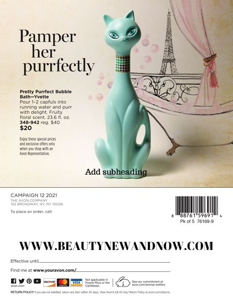 PAMPER HER PURRFECTLY