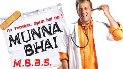 Munna Bhai M.B.B.S. 2003 Hindi Full Movies Free Download 480p WEBRip