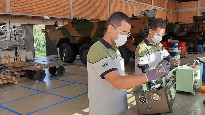 Iveco Defence Vehicles vence licitação para o fornecimento de peças de reposição da viatura Guarani