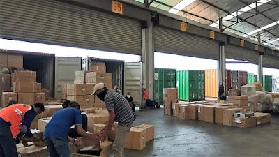 consolidated shipping from indonesia to singapore