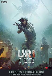 Uri: The Surgical Strike 2019 Movie 720 480p DVDRip
