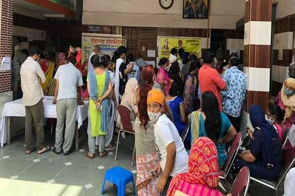 ballabhgarh-free-health-checkup-camp-rashtriya-hindu-yuva-vahini