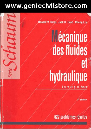 Série Schaum de la Mécanique des Fluides et Hydraulique