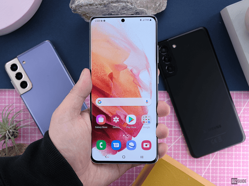 Samsung Galaxy S21 Ultra screen