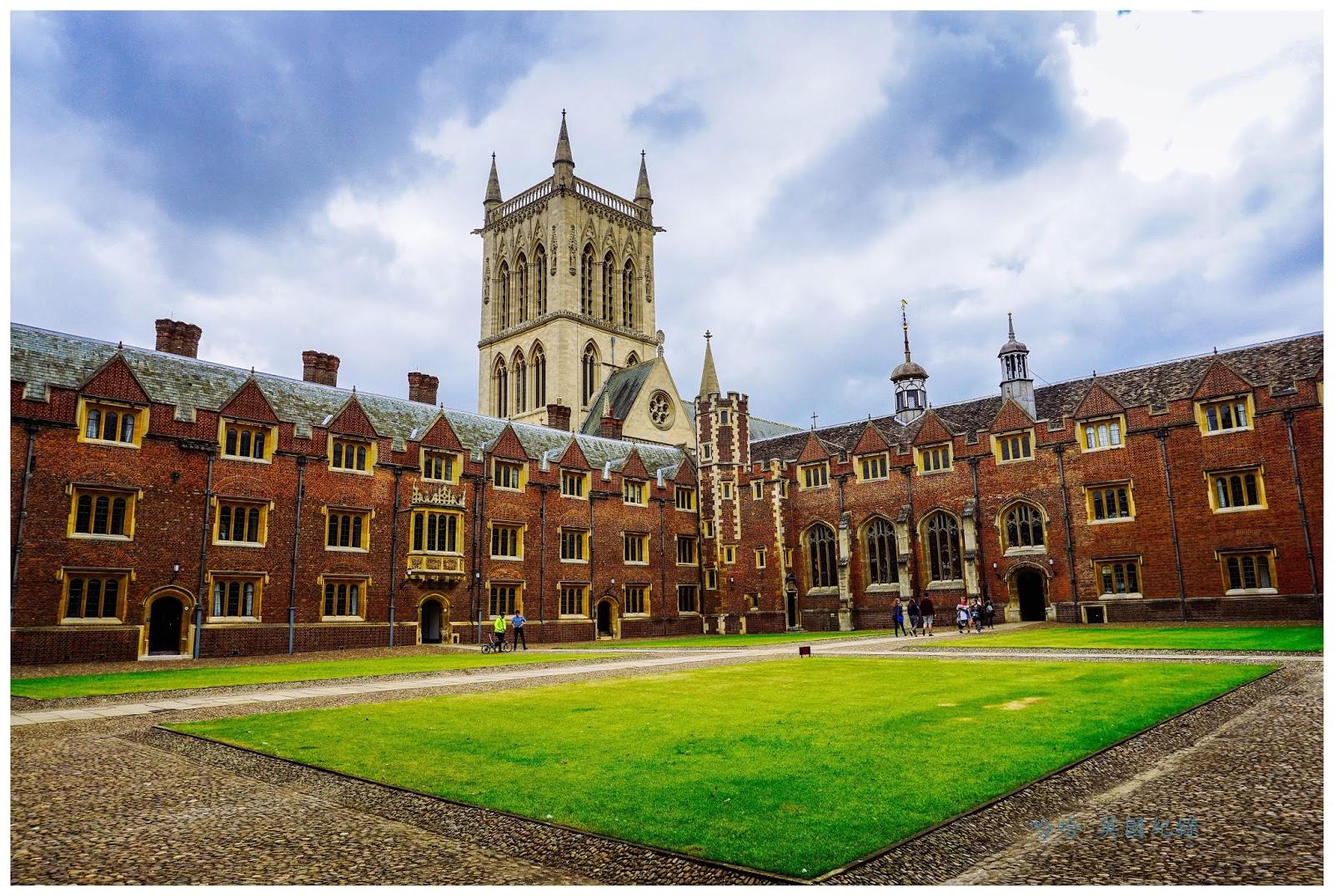 [英國 劍橋] 劍橋學院之旅~聖約翰學院 St John's College - 哈哈 與 EVA 旅遊紀錄