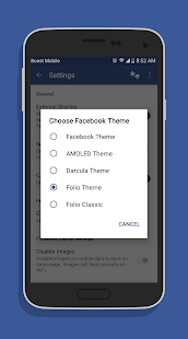 Folio for Facebook & Messenger v3.5.3 [Premium] [Latest] Apk