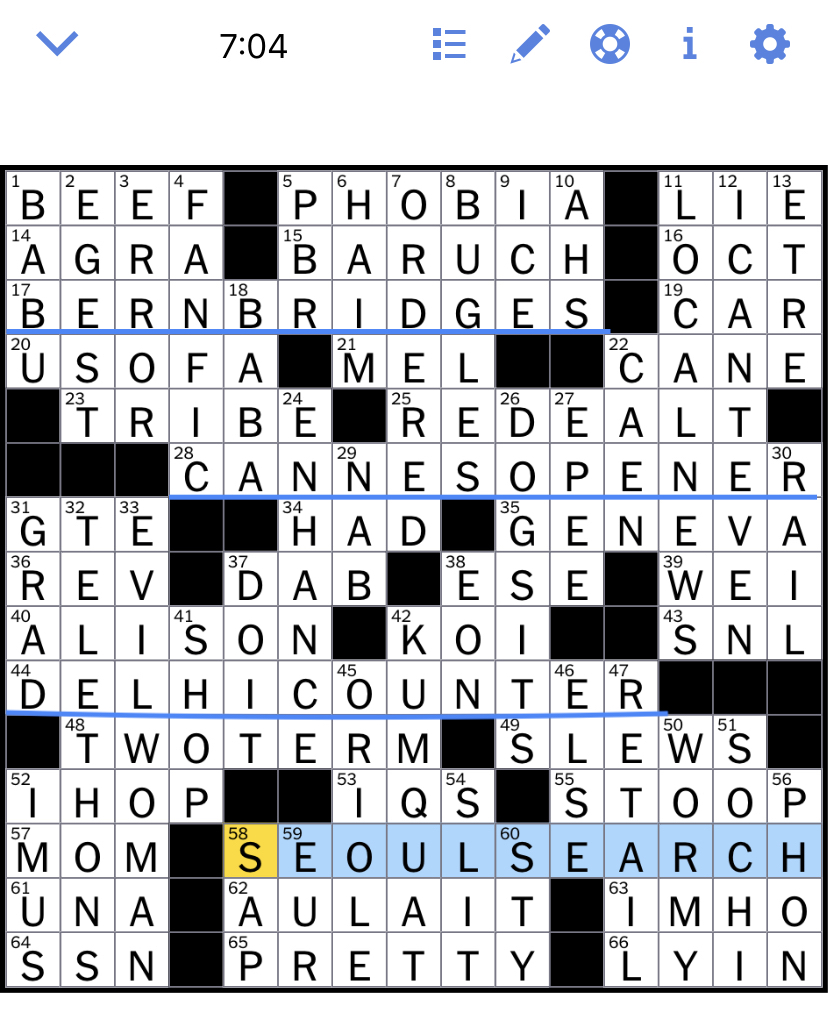 Nyt Cross : cross, Times, Crossword, Puzzle, Solved:, Wednesday's, October