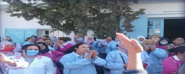 المهدية : عاملات النسيج يحتجون بسبب عدم خلاص مستحقاتهم