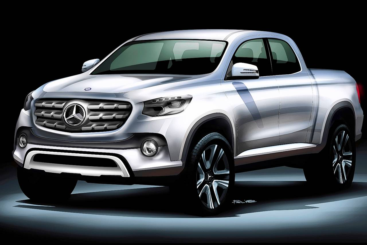 Mercedes benz anuncia entrada no segmento de pick up car for Mercedes benz com br