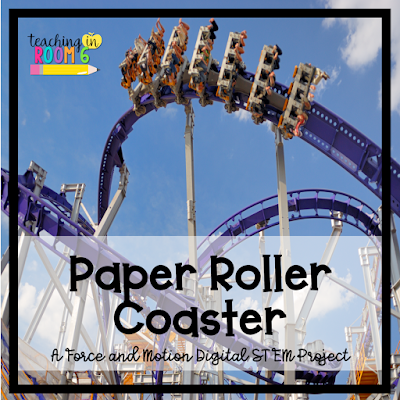 Digital and hands-on project to get the kids learning about force and motion by building a roller coaster.