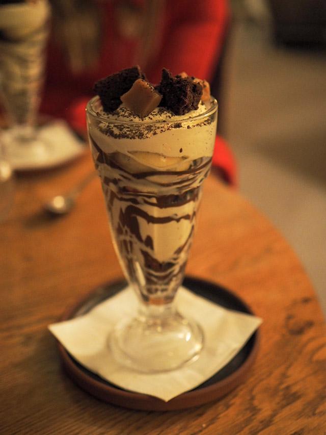 Foxhill Manor brownie sundae