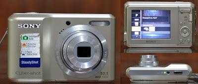 Jual Kamera Digital bekas Sony DSC-S2000