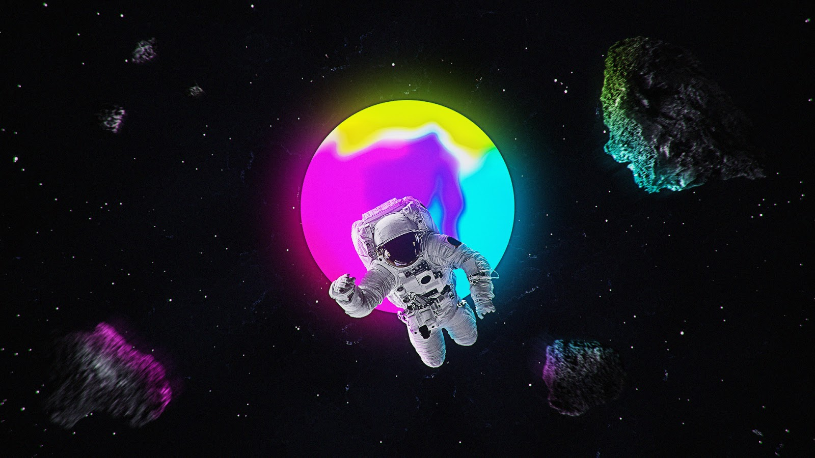 Astronaut, Artworks, HD, Space