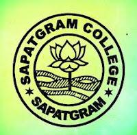 Sapatgram College Dhubri Recruitment 2019-