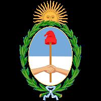 Logo Gambar Lambang Simbol Negara Argentina PNG JPG ukuran 200 px