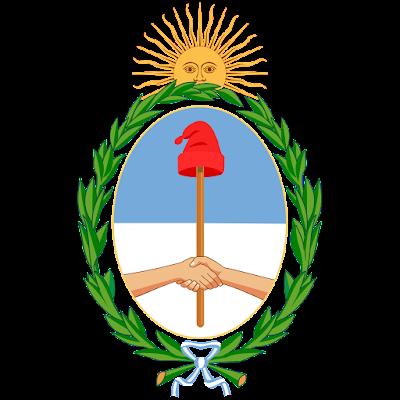 Coat of arms - Flags - Emblem - Logo Gambar Lambang, Simbol, Bendera Negara Argentina