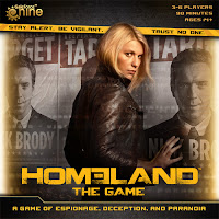 Unboxing Homeland: The Game (Gale Force Nine)
