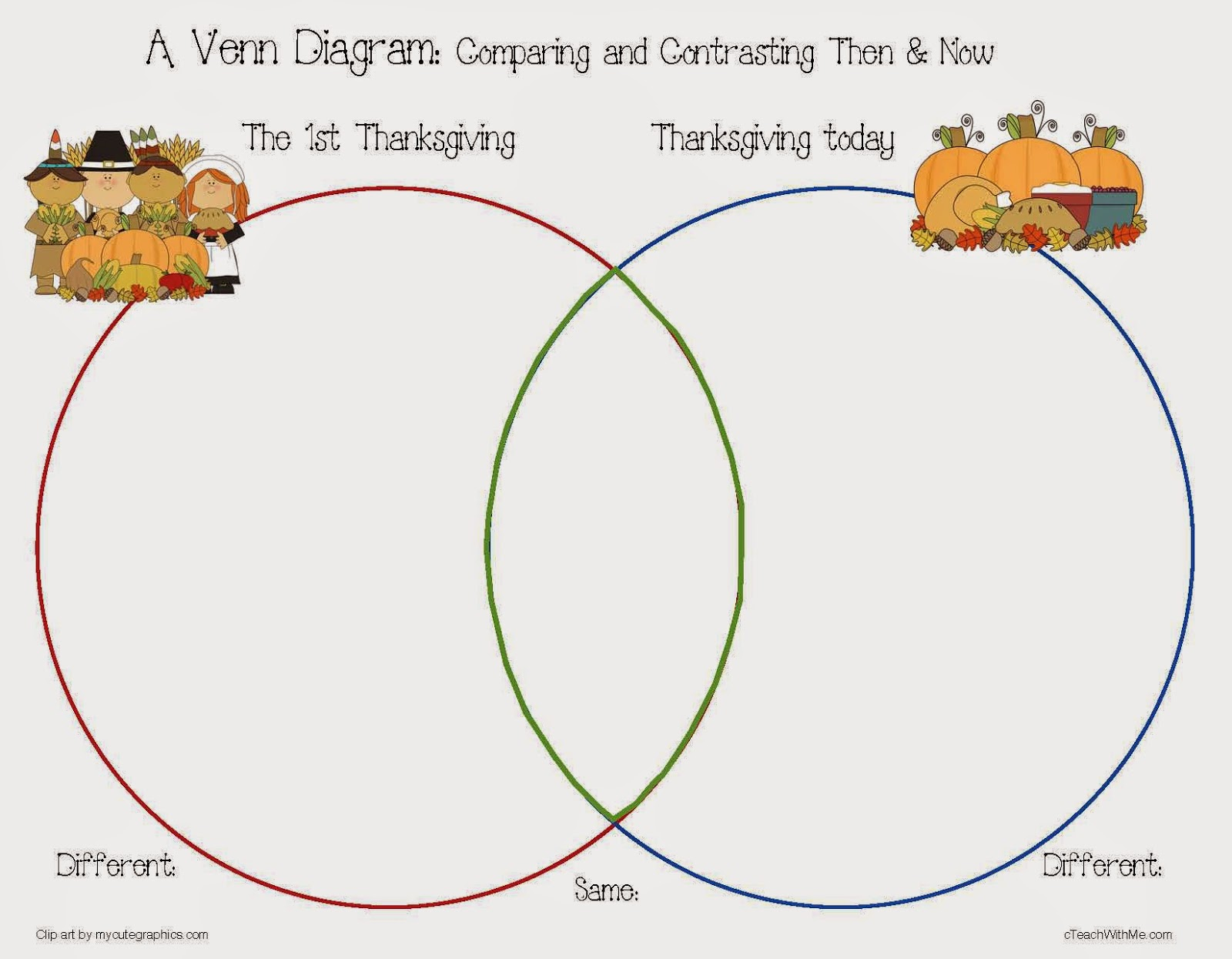 Classroom Freebies My Thanksgiving Dinner Writing Prompt