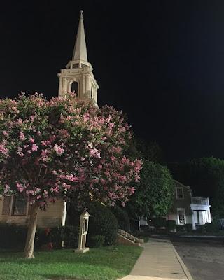 "PLL bts 7x14 ""Power Play"" Rosewood church bell tower night shoot"