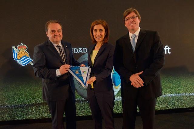 La Real Sociedad firma con Microsoft para digitalizar el club