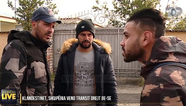 Iraqi clandestine pay up to 6,000 euros to come to Albania inside truck