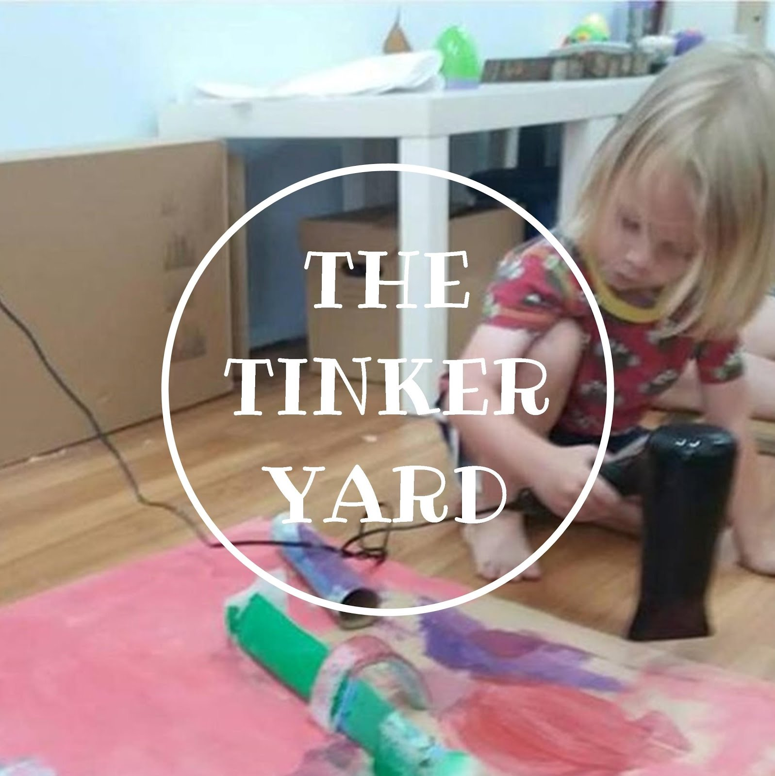 The Tinker Yard is getting a new webpage.