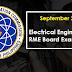 September 2021 Electrical Engineer REE, RME Board Exam Result