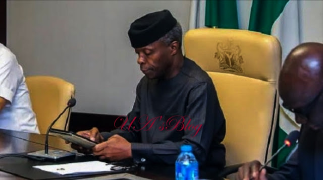 How Nigerians can save country from break-up, by Osinbajo