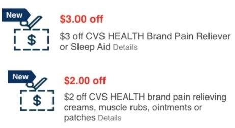 cvs health pain crt