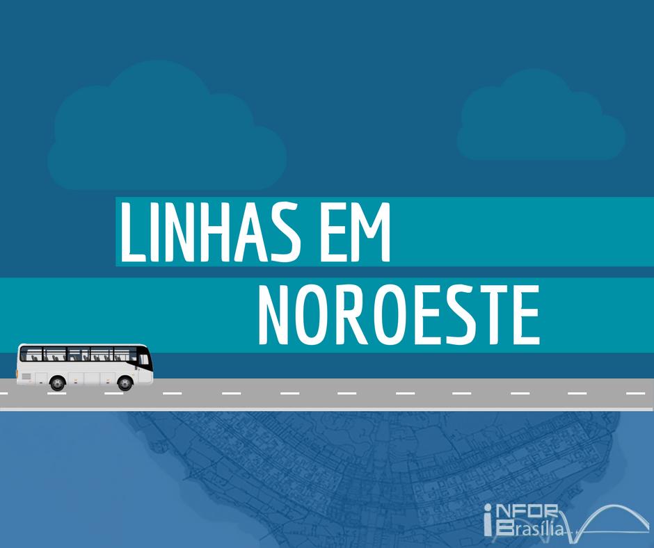 Horário de ônibus das linhas do Noroeste