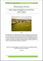 Cover of Wessington Neighbourhood Plan