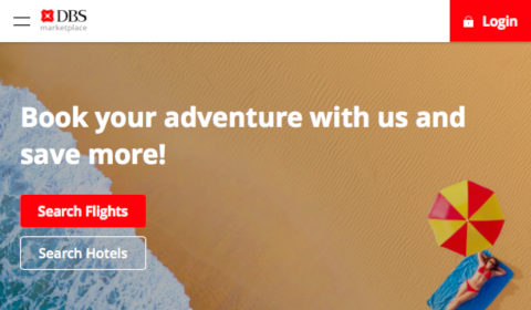 DBS - Book your adventure with us and save more
