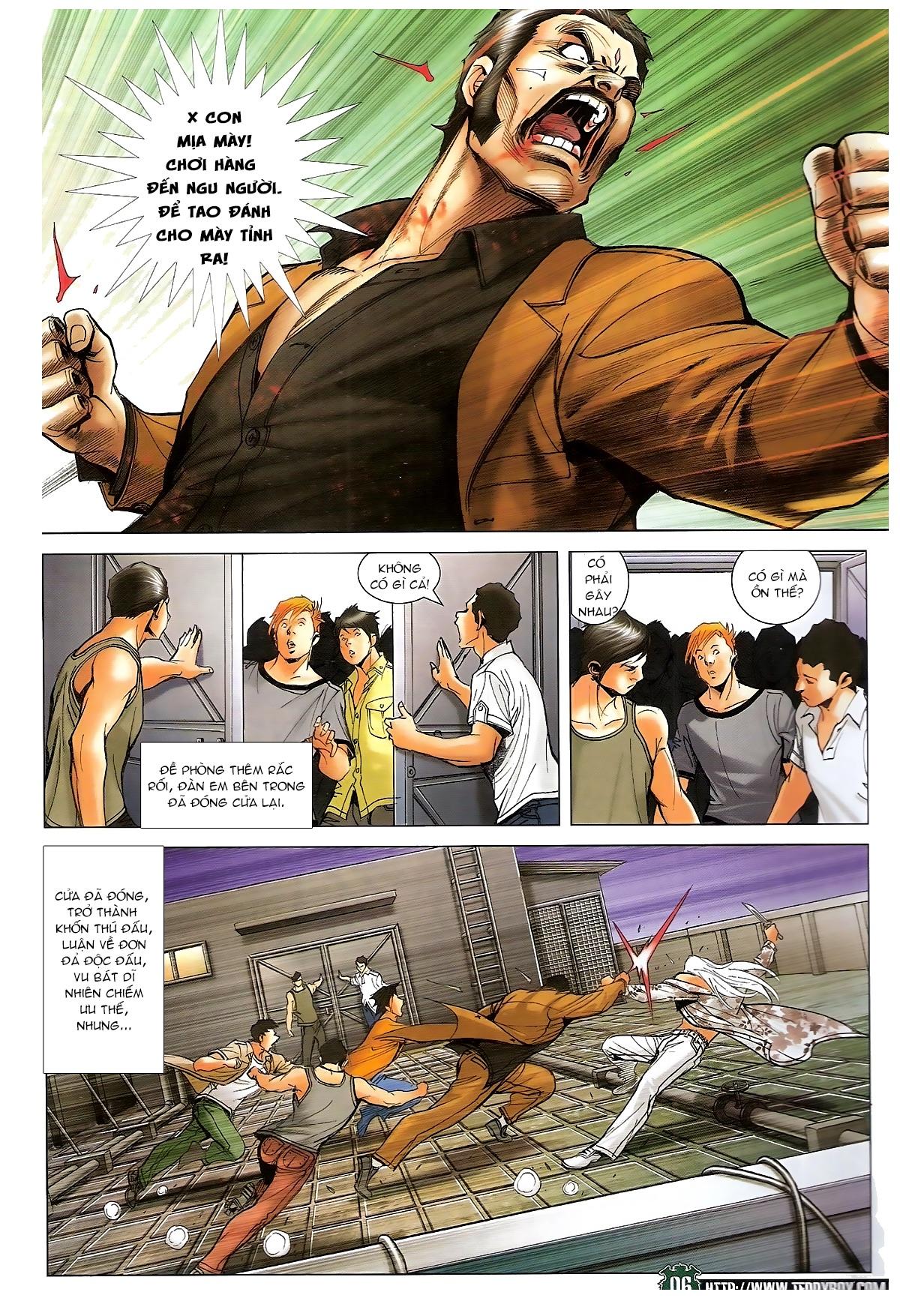 Người Trong Giang Hồ chapter 1721: vĩnh biệt vu bát trang 5