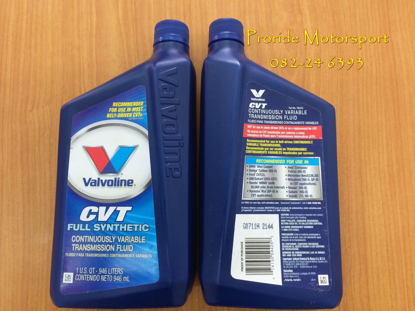 Valvoline - The world's First Motor Oil | Pro-ride Motorsports