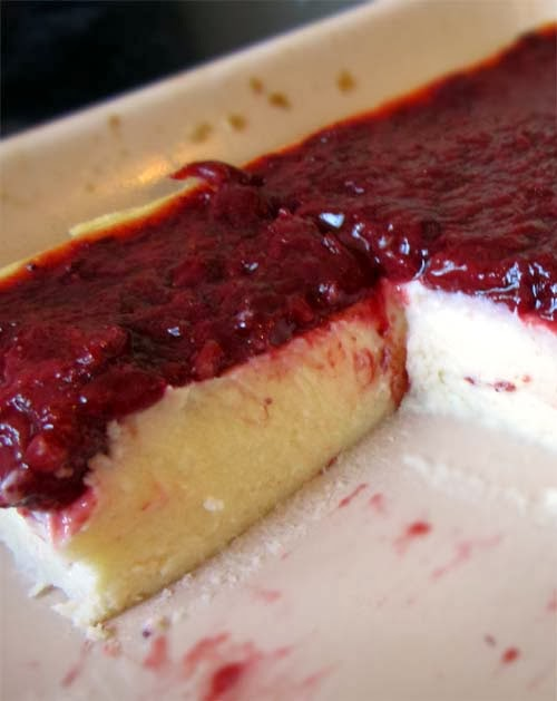 A cheesecake without a crust. Definitely a treat worth making for those who are into low carb diet.