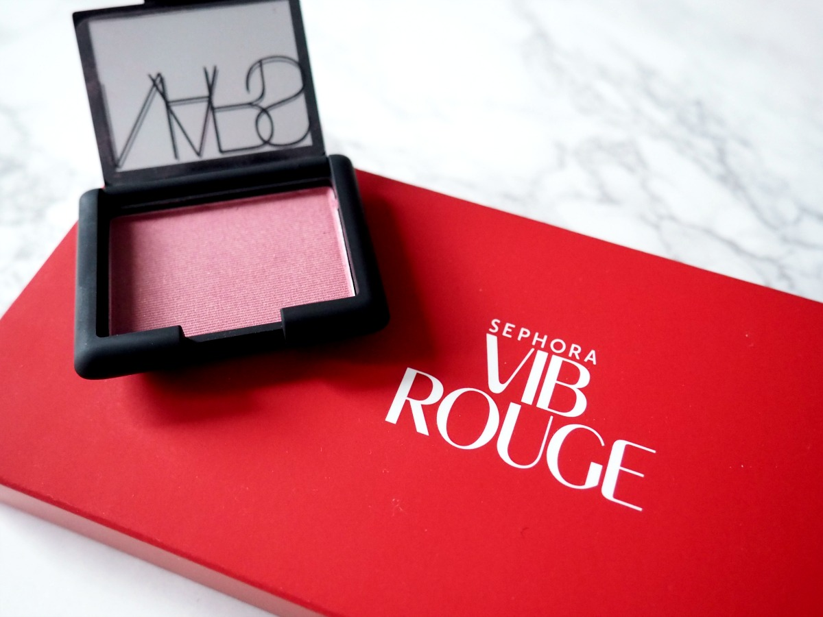 Sephora VIB Rouge Welcome Kit 2016-Nars Blush in Goulue