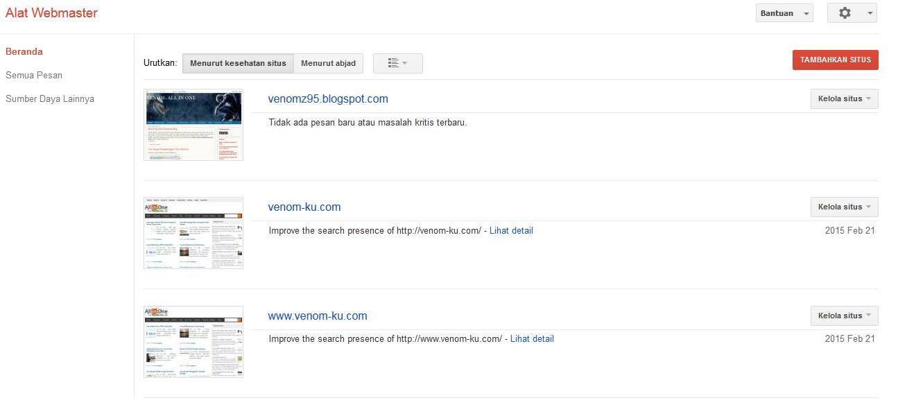 website google webmaster