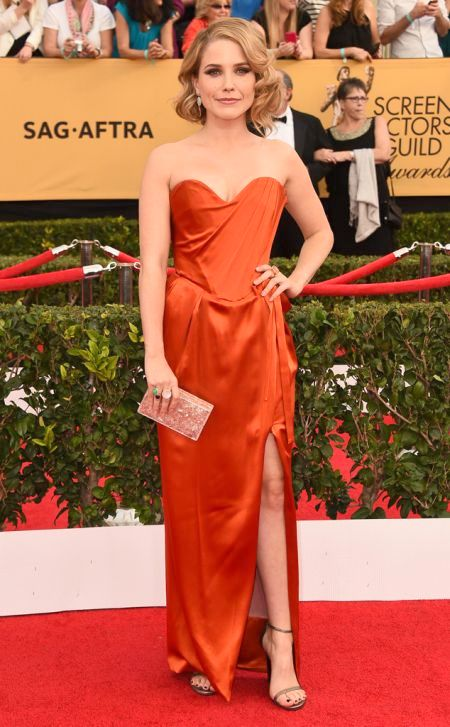 Sophia Bush in Vivenne Westwood at the SAG Awards 2015