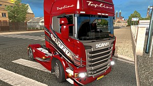 Red Scania R skin by SrqN