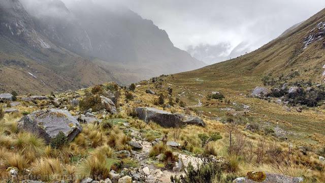 valle paria, paria, santa cruz, trek, campamentos