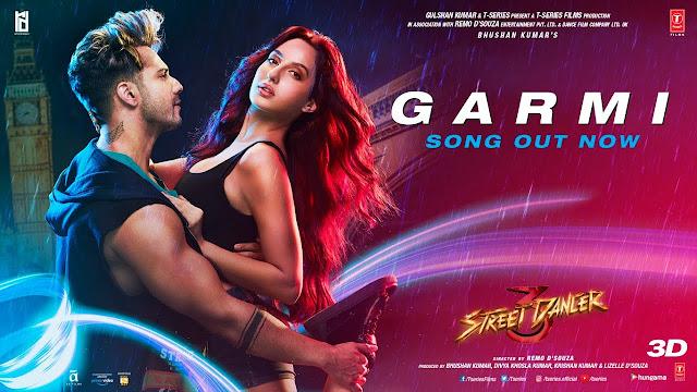 गर्मी Garmi lyrics in hindi – Street Dancer 3D