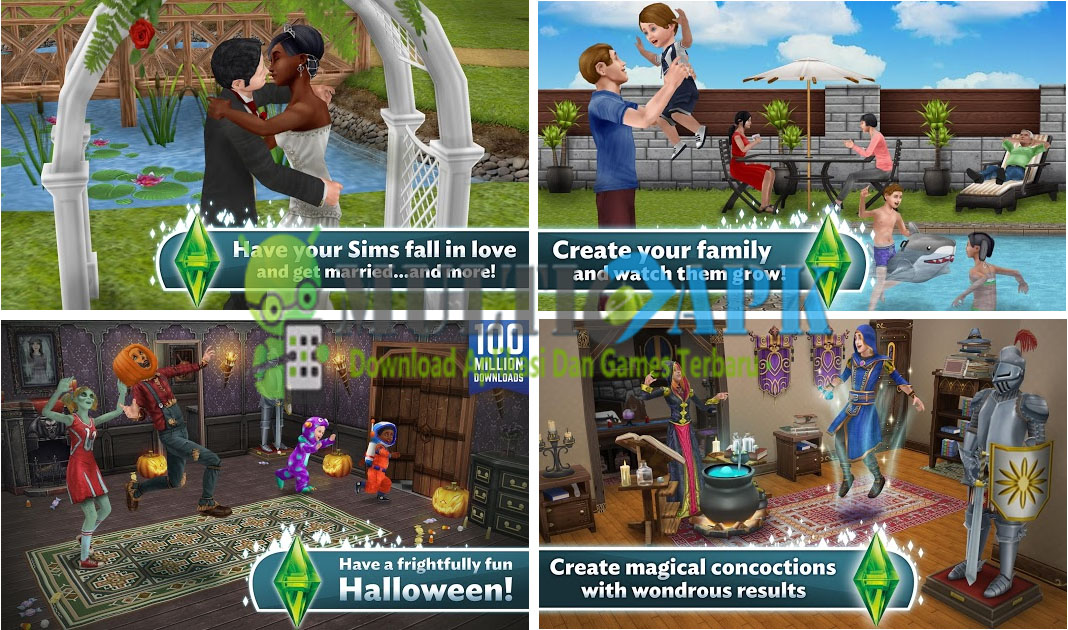 The Sims Freeplay Mod Apk v5.30.3 (Mod Money)
