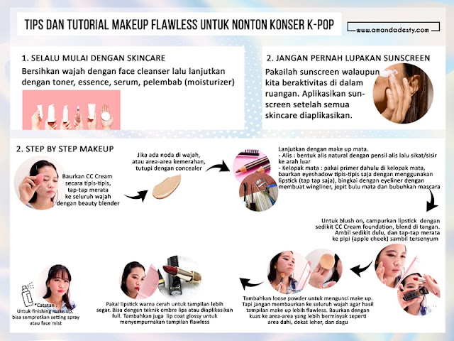 tutorial makeup flawless