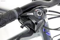 Shimano EF51 24-speed shifters on 2017 Gravity FSX 1.0 Dual Full Suspension Mountain Bike