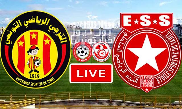 Match ESTunis Taraji vs Etoile du Sahel Live Stream
