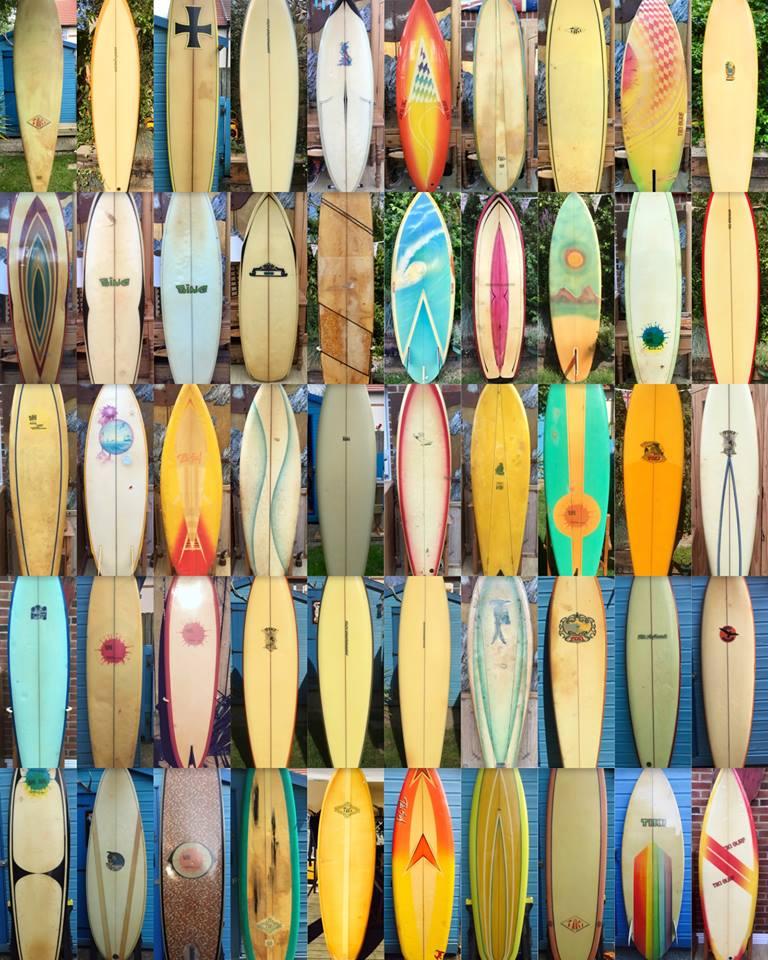 Vintage Surfboard Collector Uk