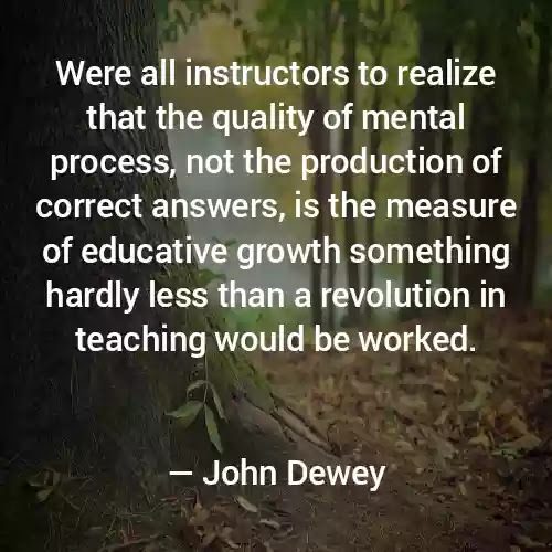 john dewey experience and education quotes