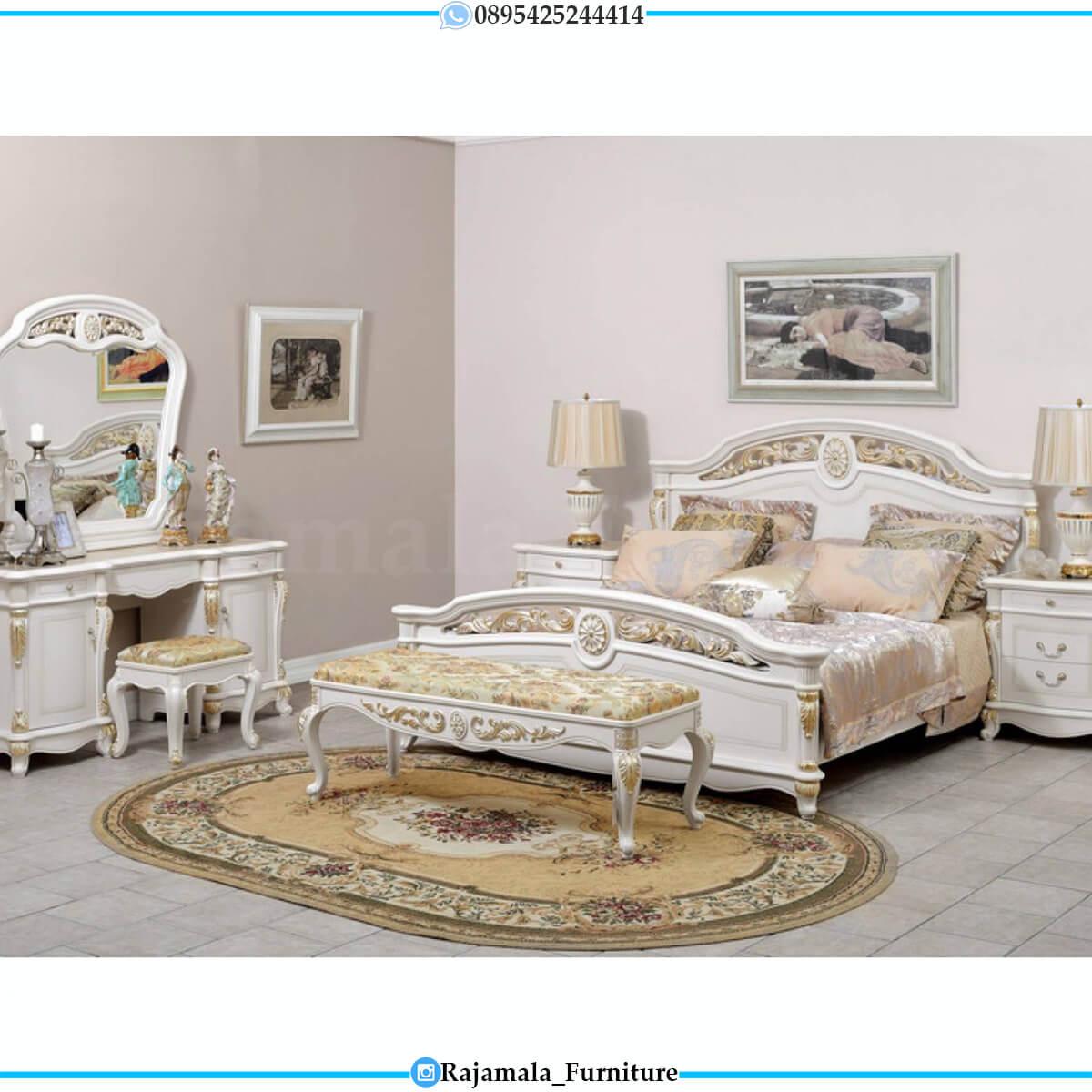 Harga Set Tempat Tidur Mewah Jepara Luxury Classic Carving RM-0648