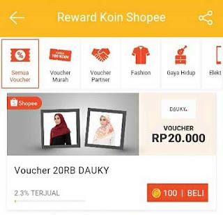 Cara Belanja di Shoppe Menggunakan Koin Shoppe untuk beli barang